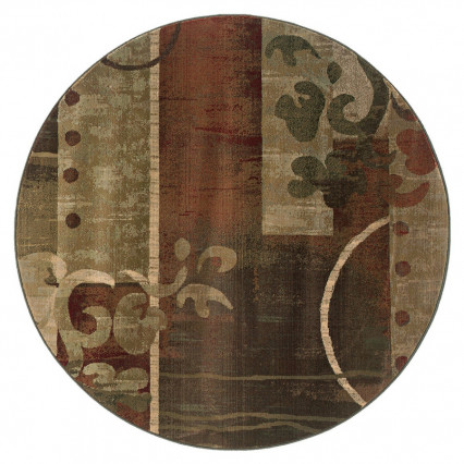 Generations 8007A Round Indoor Rug