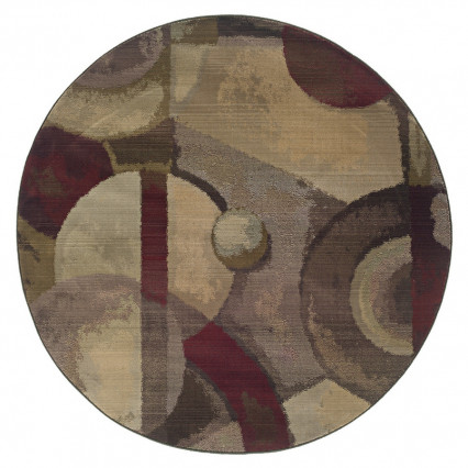 Generations 8013A Round Indoor Rug