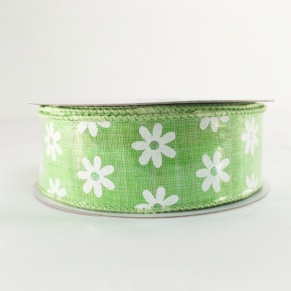 Berwick 0586 1.5 x 10yds Green Decorative Ribbon