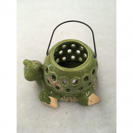 Green Turtle Tealight Holder