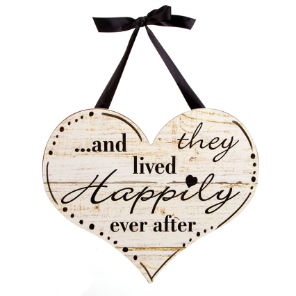 Darice Happily Ever After Wall Decor