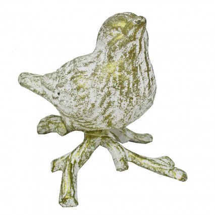 Bird Gold Cast Iron Decor