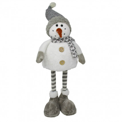 Snowman Christmas Decor with Spring Top