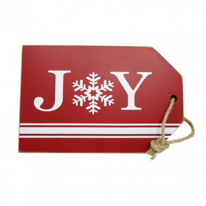 Joy Wooden Christmas Hanging Sign