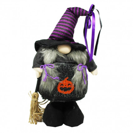 Halloween Wizard Gnome Woman - Adjustable Height