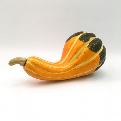 Orange and Green Gourd