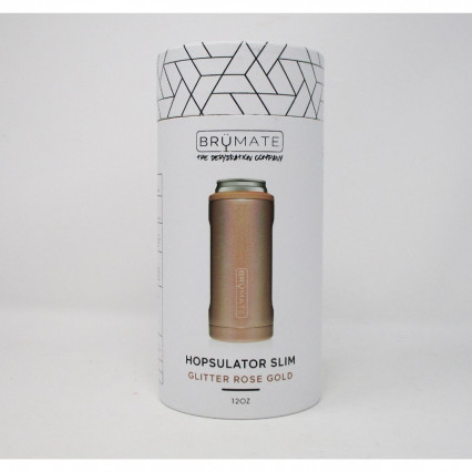 Brumate Slim Can Cooler Rose Gold