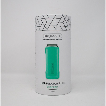 Brumate Slim Can Cooler Seafoam
