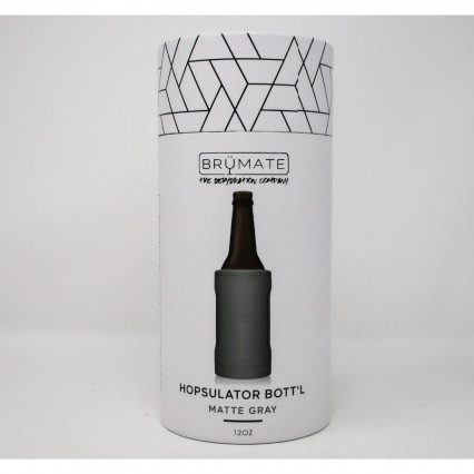 Brumate Bottle Cooler Matte Gray