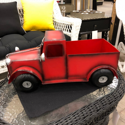 Metal Red Truck