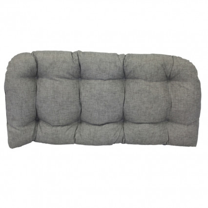 Settee Cushion - Jackson Light Gray
