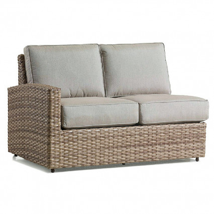 Biscayne Left Loveseat - Fieldstone