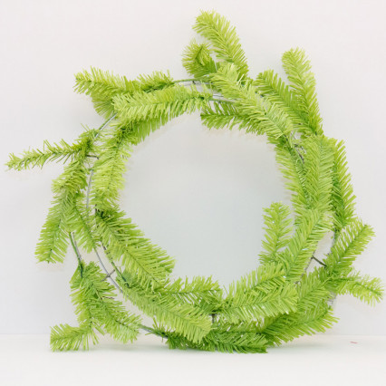 "24"" Lime Green Pine Work Wreath"