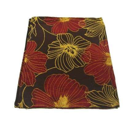 Fall Floral Table Runner