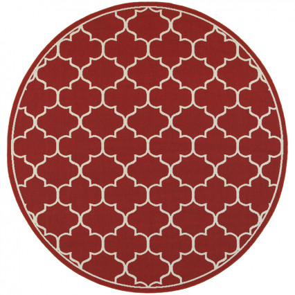Meridian 1295R Round Outdoor Rug