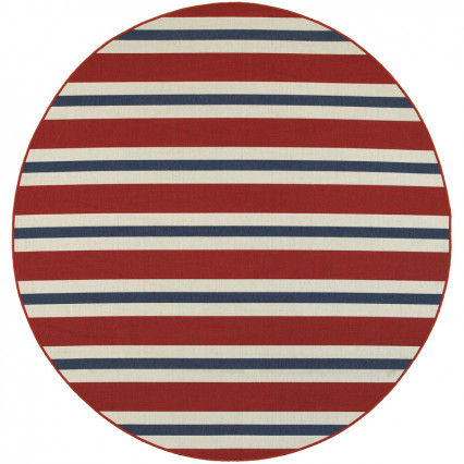 Meridian 5701R Round Outdoor Rug