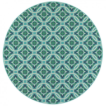 Meridian 5868L Round Outdoor Rug