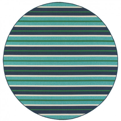 Meridian 9652F Round Outdoor Rug