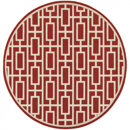 Meridian 9754R Round Outdoor Rug