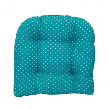 Chair Cushion - Mini Dot Ocean