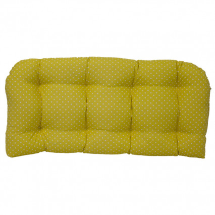 Settee Cushion - Mini Dot Pineapple