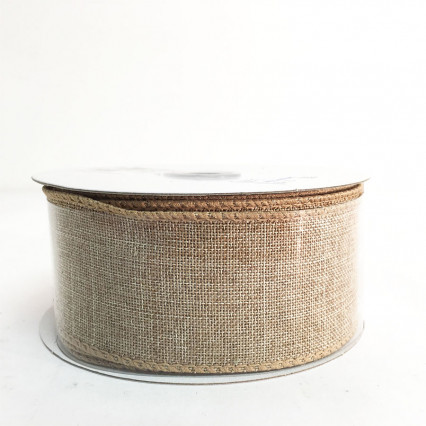 "1.5"" x 10Y Natural Ribbon"
