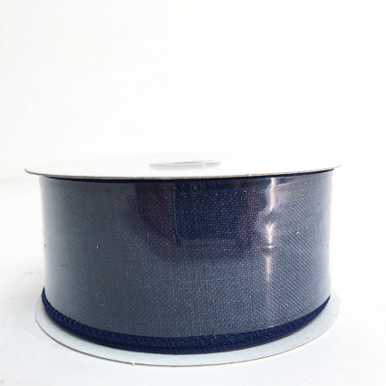 "1.5"" x 10Y Navy Ribbon"