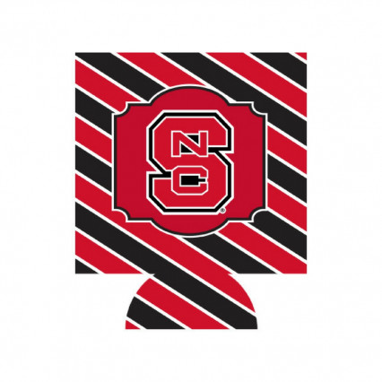 JayMac Sports 581496 North Carolina State Wolfpack Can Hugger - Stripes