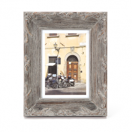 Darice Ornate Wire Brush Picture Frame