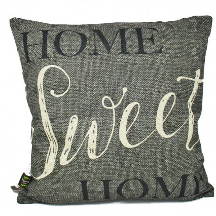 "17"" Buffalo Plaid Home Sweet Home 2-sided Indoor Outdoor Pillow"