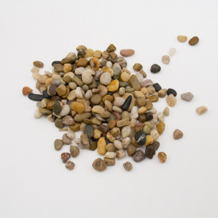 Mixed Color River Pebbles – 28 oz. Bag