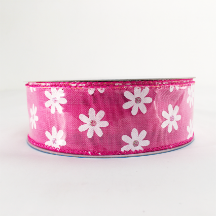 Berwick 0156 1.5 x 10yds Hot Pink Decorative Ribbon