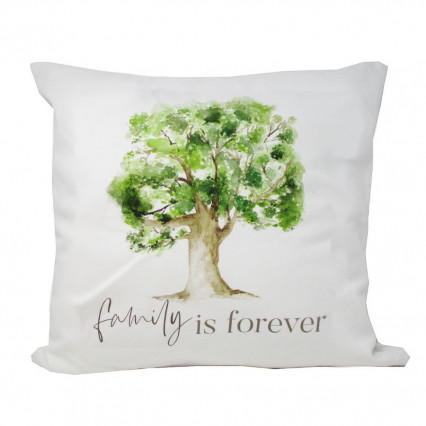 Family is Forever PGD Accent Throw Pillow