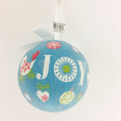 "5"" Pop Bead Joy Ball Ornament"