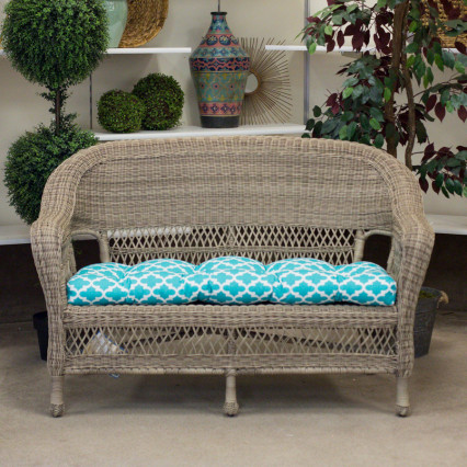 Raleigh Loveseat - Carolina Pottery The Raleigh Collection In Fieldstone