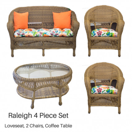 Raleigh 4 Piece Set - Antique