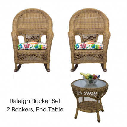 Raleigh Rocker Set - Antique