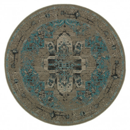 Revival 4694E Round Indoor Rug