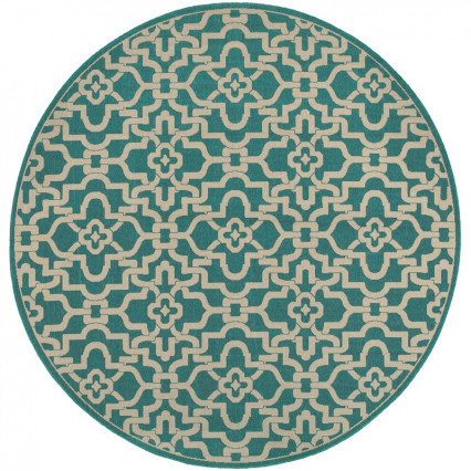 Seaside 3361L Round Outdoor Rug