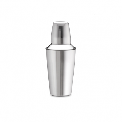3 Piece Bar Shaker 16 oz. Stainless Steel