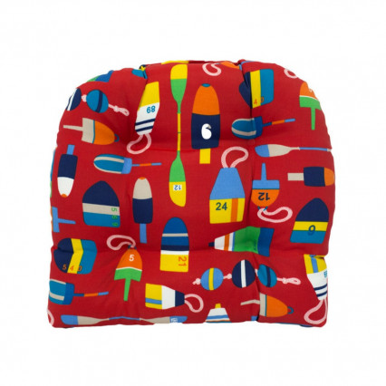 Chair Cushion - Shipwreck Red