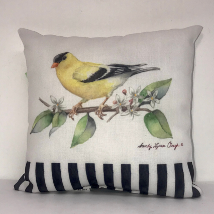 Songbird Indoor Pillow