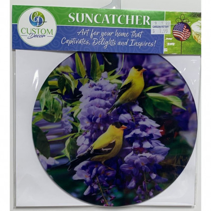 Sun Catcher - Goldfinch Wisteria