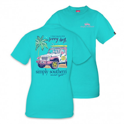 Simply Southern - Sunny in Pool - XXLarge
