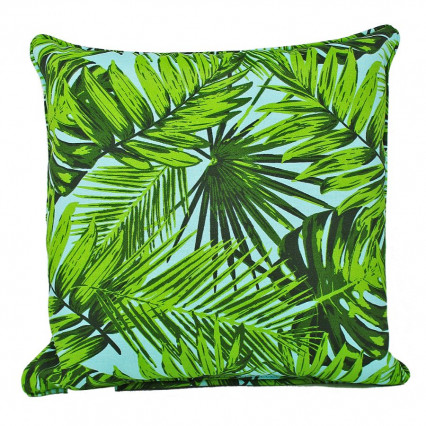 "17"" Tropica Aruba Indoor Outdoor Accent Throw Pillow"