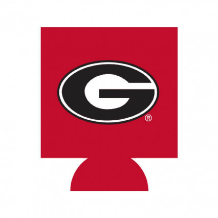 Georgia Bulldogs Can Hugger - Red