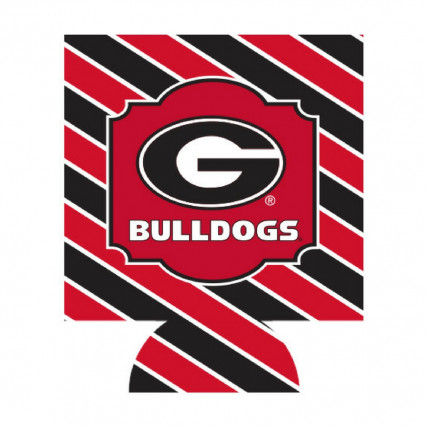 Georgia Bulldogs Can Hugger - Stripe