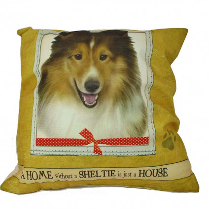 Home Sheltie Accent Throw Pillow