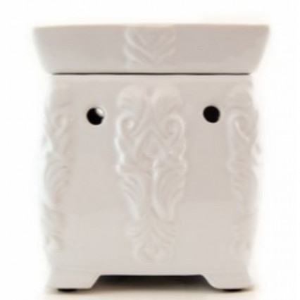 Tyler Candle Co. - Grandeur White Warmer
