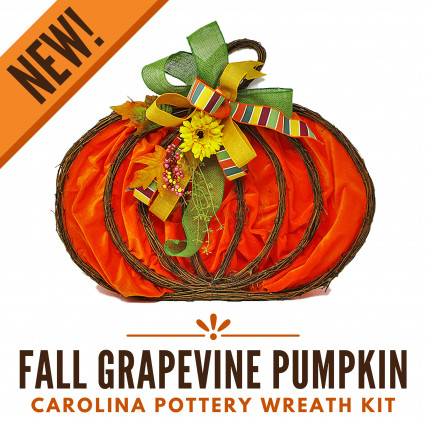 Wreath Kit-Fall Pumpkin